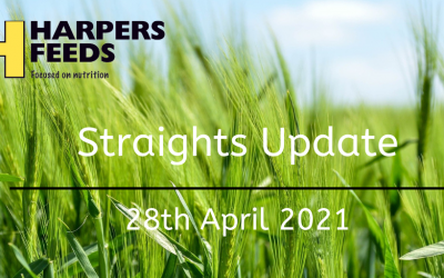 Straights Update 14th April 2021
